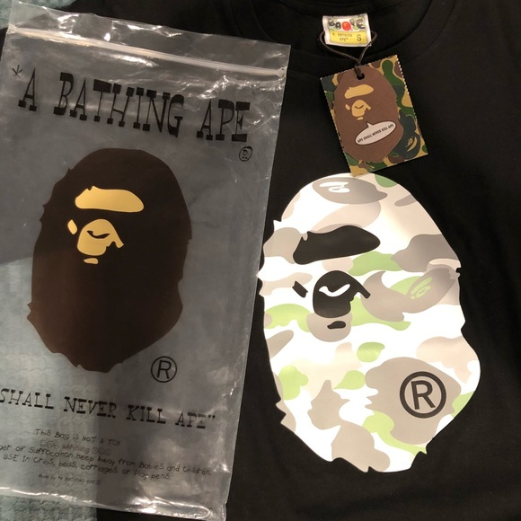 3ec5287a Bape Shirts | City Camo Big Ape Head Tee | Poshmark
